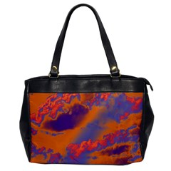 Sky pattern Office Handbags