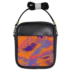 Sky pattern Girls Sling Bags