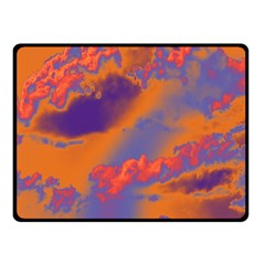 Sky pattern Fleece Blanket (Small)