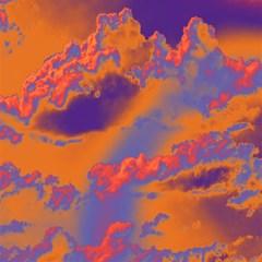 Sky pattern Magic Photo Cubes