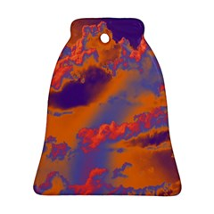 Sky pattern Bell Ornament (Two Sides)