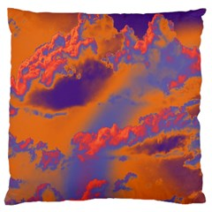 Sky pattern Large Cushion Case (One Side)