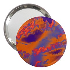Sky pattern 3  Handbag Mirrors