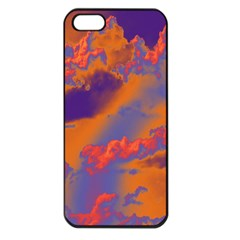 Sky pattern Apple iPhone 5 Seamless Case (Black)