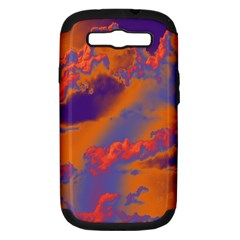 Sky pattern Samsung Galaxy S III Hardshell Case (PC+Silicone)
