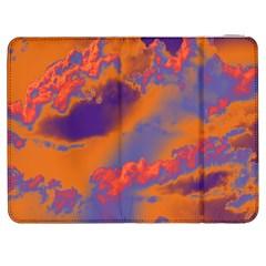 Sky pattern Samsung Galaxy Tab 7  P1000 Flip Case