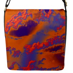 Sky pattern Flap Messenger Bag (S)