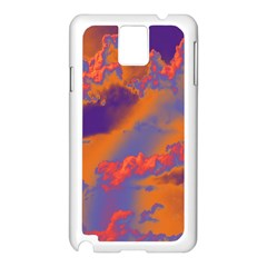 Sky pattern Samsung Galaxy Note 3 N9005 Case (White)