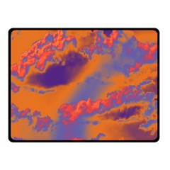 Sky pattern Double Sided Fleece Blanket (Small)