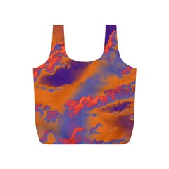 Sky pattern Full Print Recycle Bags (S)