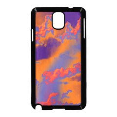 Sky pattern Samsung Galaxy Note 3 Neo Hardshell Case (Black)