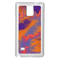 Sky pattern Samsung Galaxy Note 4 Case (White)