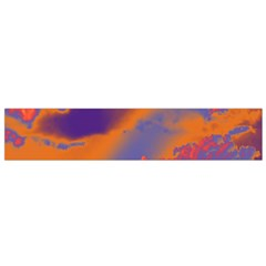 Sky pattern Flano Scarf (Small)