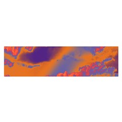 Sky pattern Satin Scarf (Oblong)