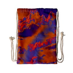 Sky pattern Drawstring Bag (Small)