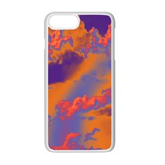 Sky pattern Apple iPhone 7 Plus White Seamless Case