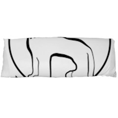 Seal of Indian State of Manipur  Body Pillow Case Dakimakura (Two Sides)