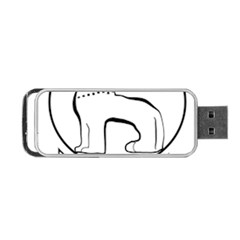 Seal of Indian State of Manipur  Portable USB Flash (Two Sides)