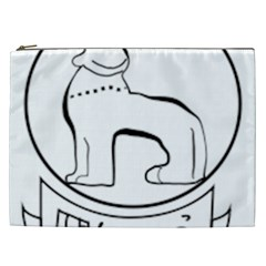 Seal of Indian State of Manipur  Cosmetic Bag (XXL)