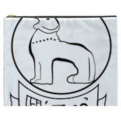 Seal of Indian State of Manipur  Cosmetic Bag (XXXL)
