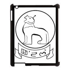 Seal of Indian State of Manipur  Apple iPad 3/4 Case (Black)