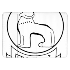 Seal of Indian State of Manipur  Samsung Galaxy Tab 8.9  P7300 Flip Case
