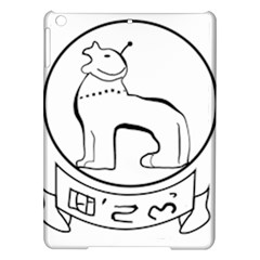 Seal of Indian State of Manipur  iPad Air Hardshell Cases