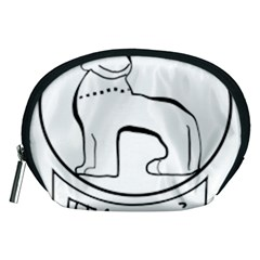 Seal of Indian State of Manipur  Accessory Pouches (Medium)