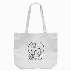 Seal of Indian State of Manipur  Tote Bag (White)