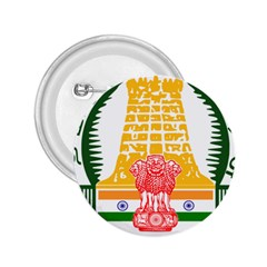 Seal of Indian State of Tamil Nadu  2.25  Buttons