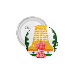 Seal of Indian State of Tamil Nadu  1.75  Buttons