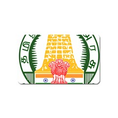 Seal of Indian State of Tamil Nadu  Magnet (Name Card)