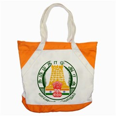 Seal of Indian State of Tamil Nadu  Accent Tote Bag