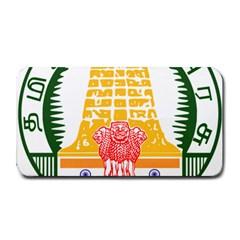 Seal of Indian State of Tamil Nadu  Medium Bar Mats