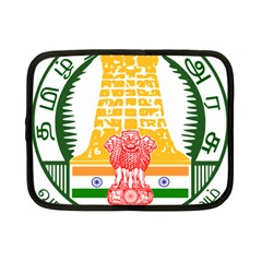 Seal of Indian State of Tamil Nadu  Netbook Case (Small)