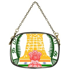 Seal of Indian State of Tamil Nadu  Chain Purses (One Side)