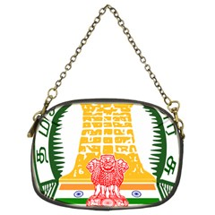 Seal of Indian State of Tamil Nadu  Chain Purses (Two Sides)