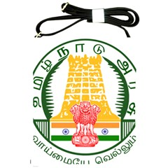 Seal of Indian State of Tamil Nadu  Shoulder Sling Bags