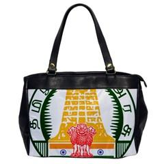 Seal of Indian State of Tamil Nadu  Office Handbags