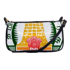 Seal of Indian State of Tamil Nadu  Shoulder Clutch Bags