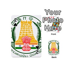 Seal of Indian State of Tamil Nadu  Playing Cards 54 (Mini)