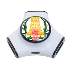 Seal of Indian State of Tamil Nadu  3-Port USB Hub