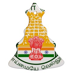 Seal of Indian State of Tamil Nadu  Ornament (Christmas Tree)