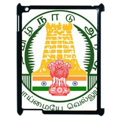 Seal of Indian State of Tamil Nadu  Apple iPad 2 Case (Black)