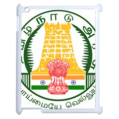 Seal of Indian State of Tamil Nadu  Apple iPad 2 Case (White)