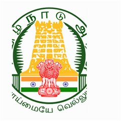 Seal of Indian State of Tamil Nadu  Large Garden Flag (Two Sides)