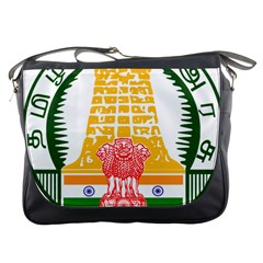 Seal of Indian State of Tamil Nadu  Messenger Bags