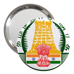 Seal of Indian State of Tamil Nadu  3  Handbag Mirrors