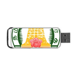 Seal of Indian State of Tamil Nadu  Portable USB Flash (Two Sides)