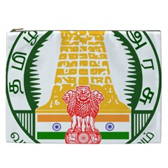Seal of Indian State of Tamil Nadu  Cosmetic Bag (XXL)